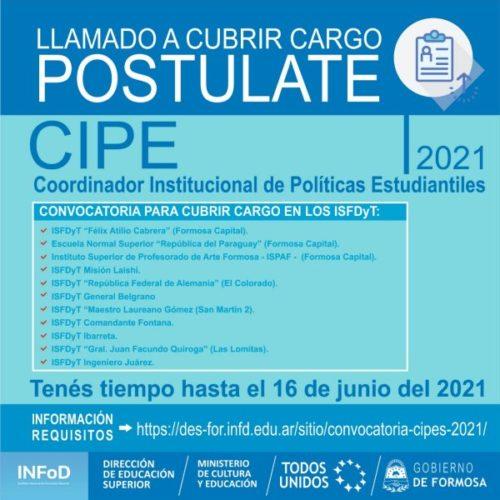 Convocatoria CIPEs 2021